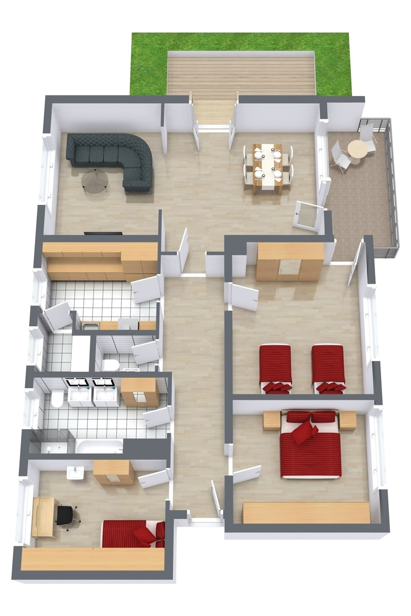 Apartment 911 Floor Plan