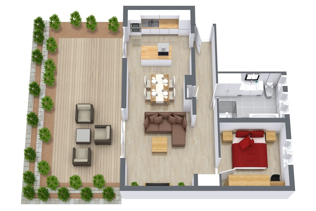 Apartment 962 Floorplan
